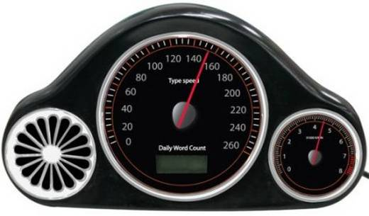 speedometer f r wpm per usb. Black Bedroom Furniture Sets. Home Design Ideas