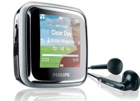 Philips GoGear MP3-Player