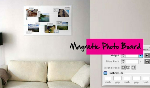 Photoshop Photo Board