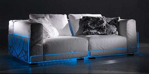 asami light sofa sofa mit led beleuchtung. Black Bedroom Furniture Sets. Home Design Ideas