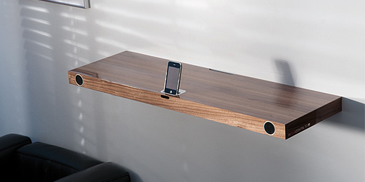 Hohrizontal 51: iPhone-Dock ist ein Regal