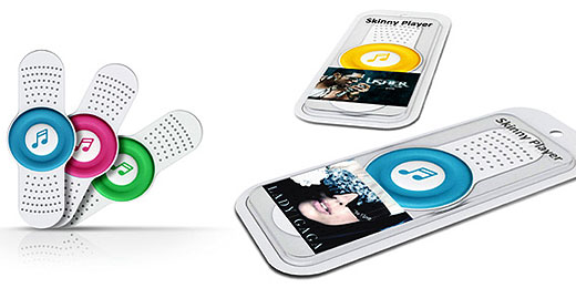 Skinny Player: Pflaster ist MP3-Player