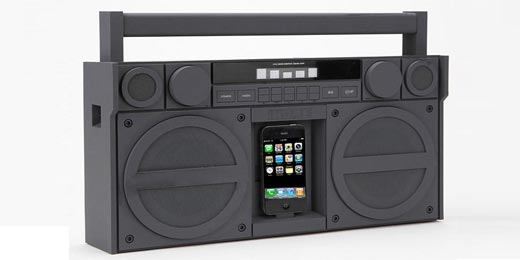 iHome iP4: Ghettoblaster für iPhone, iPod & Co.