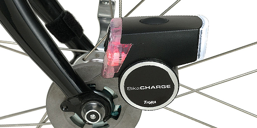 bikecharge dynamo gadgets am fahrrad laden. Black Bedroom Furniture Sets. Home Design Ideas