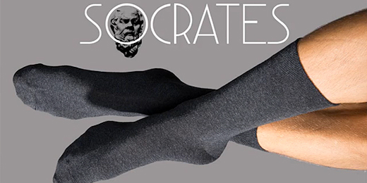 socrates diese socken sind unzerst rbar. Black Bedroom Furniture Sets. Home Design Ideas