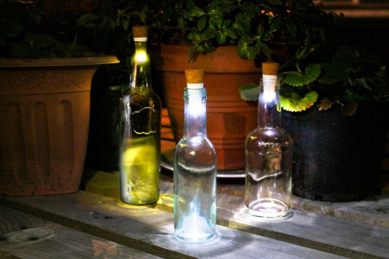 Bottle Light Flaschenlicht