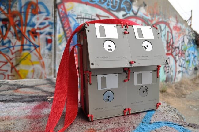 Floppy Disk Bag Handtasche