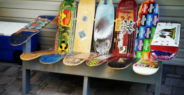 Skateboard Upcycling