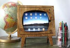 Retro iPad TV Dock