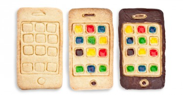 iPhone Kuchenform