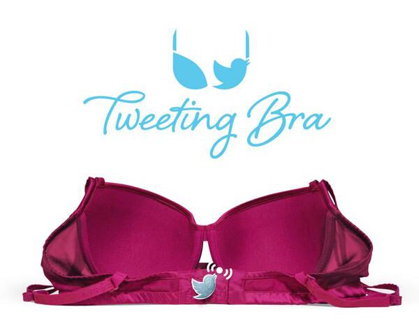 Tweeting Bra