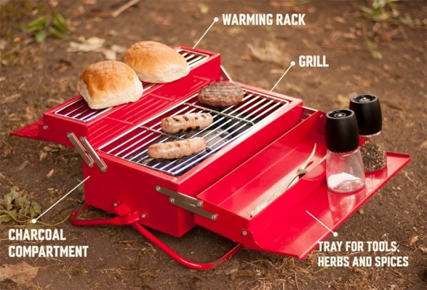 BBQ Toolbox von Suck UK